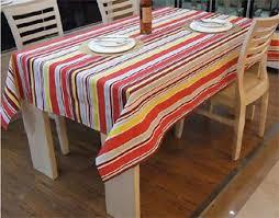 cotton tablecloths high living