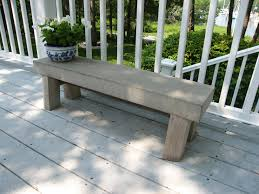 Concrete Table And Benches Concrete Benches Tables And Furniture