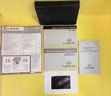 lexus is owners manual lexus rx330 owners manual ebay