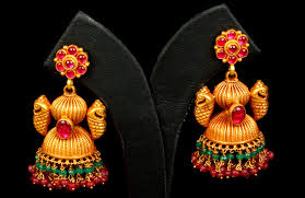 bridal jhumka earrings shopzters 9 jhumka types that add sparkle to your wedding day