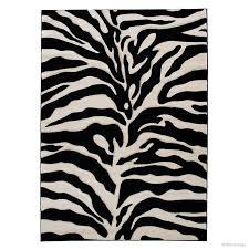 Black And White Zebra Area Rug Allstar Rugs Zebra Black Beige Area Rug U0026 Reviews Wayfair