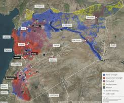 Maps Syria by Monthly Maps August 2013 Geohackers
