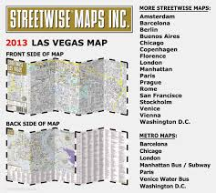 Map Of Las Vegas Strip Showing Hotels by Streetwise Las Vegas Map Laminated City Center Street Map Of Las