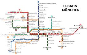 Pdf Metro Map by Munich Subway Map Munich U Bahn Mapa Metro