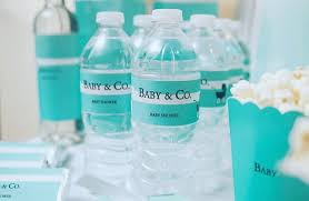 baby co baby shower 48 baby and co baby shower water bottle labels