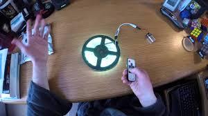 led light strip youtube