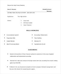 Student Resume Templates Free College Student Resume Template Resume College Application