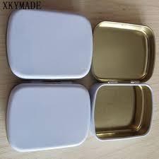 wedding candy boxes wholesale hinge tin box square tin silver gift box sealing plain tin wedding