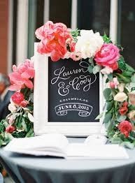 guest sign in ideas chalkboard wedding signs you ll want to use at your wedding
