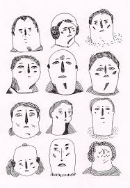 how to draw doodle faces human faces for days doodlers anonymous