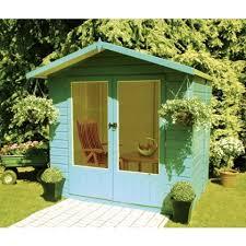 Summer House In Garden - garden houses gardening ideas