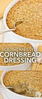 southern style cornbread dressing recipe buttermilk cornbread