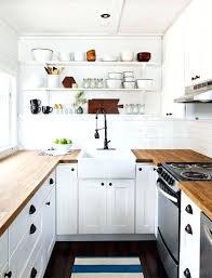 cuisine blanche plan de travail bois idace dacco cuisine blanche deco cuisine blanc et bois blanche idace