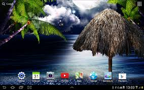 free live halloween wallpaper tropical night live wallpaper android apps on google play
