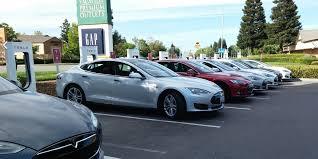 Tesla Supercharger Map Tesla U0027s Electric Car Charging Sites Are Surging Business Insider