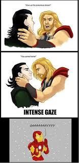 Funny Thor Memes - avengers loki vs thor vs iron man imglulz