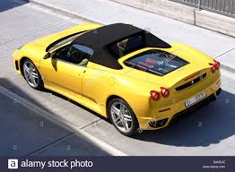 ferrari yellow car car ferrari f430 spider model year 2005 yellow convertible