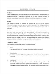 how to write an outline for a research paper example 34 outline examples in word simple research outline