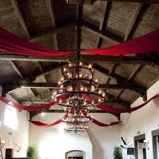 Chiffon Ceiling Draping Fabric Draping Spark Creative Events Santa Barbara