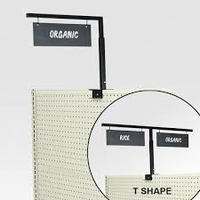 store aisle markers aisle sign holders for gondola shelving