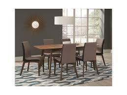 coaster redbridge dining table with extension leaf dunk u0026 bright
