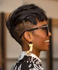 Black Hairstyles With Shaved Sides Best 20 Shaved Mohawk Hairstyles For Black Women Ideas On