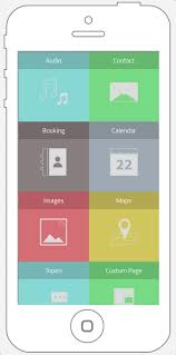 grid layout for android grid layout menu your application builder build unlimited