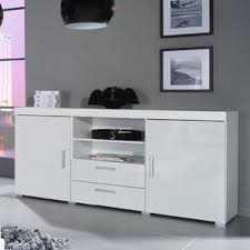 White Gloss Sideboards Modern U0026 Contemporary High Gloss White Buffet Allmodern