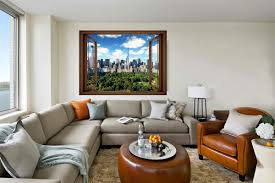 mural small window view of new york central park 3 colors wallpapers mural small window view of new york central park 3 colors