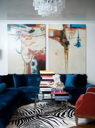 Blue Velvet Sectional Sofa by Blue Velvet Sofa Contemporary Living Room Atmosphere