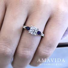 galaxy co wedding rings best 25 engagement rings with sapphires ideas on