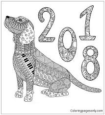 happy new year preschool coloring pages 7 best happy new year coloring pages images on pinterest colouring