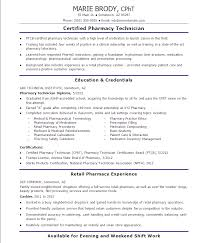 pharmacy technician resume skills resume templates