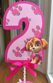 28 pink paw patrol party decs u0026 accs images