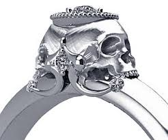 skull engagement rings skull engagement ring buy this bling
