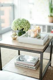 Dining Table Centerpiece Tray Best 20 Small Coffee Table Ideas On Pinterest Diy Tall Desk