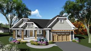 plan 890013ah craftsman ranch house plan with unique look