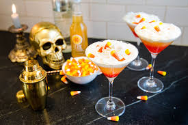 vodka martini png izze peach candy corn cocktail recipe for halloween