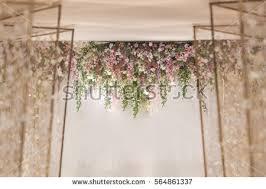 wedding backdrop images wedding backdrop flower wedding decoration stock photo 540635491