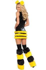 Honey Bee Halloween Costume Fuzzy Buzz Bee Halloween Costume Women 3wishes