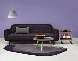 magnificent purple and black living room how to match a purple