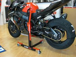honda cbr motorbike bike jack honda cbr 600f pc41 central stand renngrib race tyres