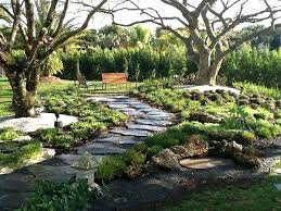 Garden With Rocks Landscaping With River Stones Decorative Pebbles