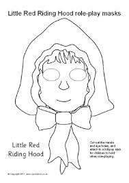 red riding hood clipart face pencil color red riding hood