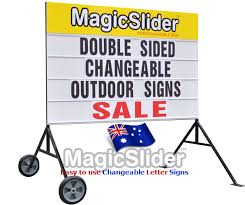 changeable letter sign replacement pack and sign frames for sale
