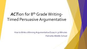 how to write a theme paper how to write a winning argumentative essay in 30 minutes palmetto 1 how to write a winning argumentative essay in 30 minutes palmetto middle school action for 8 th grade writing timed persuasive argumentative