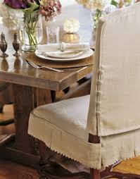 Chair Back Covers For Dining Room Chairs Slipcover For Dining Chairs Atticmag Kitchens Bathrooms