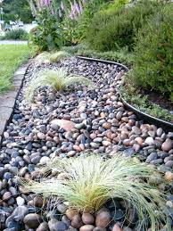 Simple Rock Garden River Rock For Landscaping Simple Rock Landscaping Ideas Best