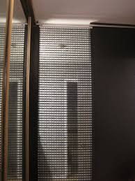 panel curtains settling sideways