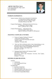 newest resume format 5 resume format images hd sumayyalee